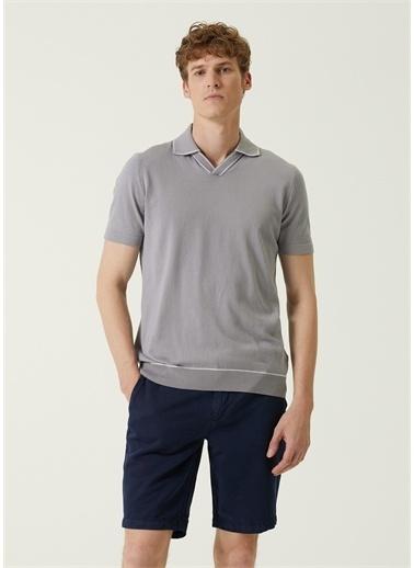 Beymen Collection Polo Yaka T-shirt Gri